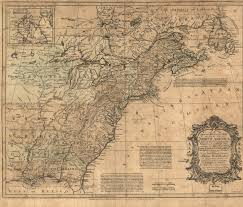 Erie County Map Map Of 1755 To 1759 Pennsylvania Maps