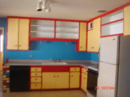 Blue Yellow Kitchen - house of many colors u2013 ugly house photos