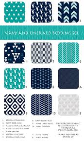 navy chevron toddler bedding home beds decoration