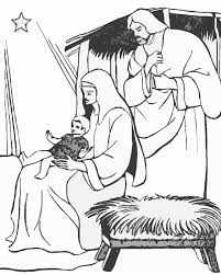 the holiday site biblical christmas coloring pages