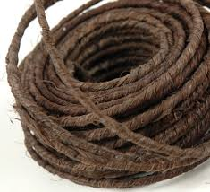 brown floral wire oasis rustic wire 18 brown 70 gauges craft and weddings