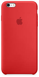 iphone 6s plus silicone case product red apple