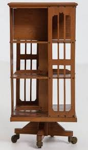 an antique revolving bookcase from our past pinterest