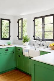 Interior Of A Kitchen 25 Best Green Kitchen Ideas On Pinterest Green Kitchen Cabinets