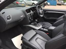 used 2012 audi a5 cabriolet 2 0 tdi s line cabriolet 2dr diesel