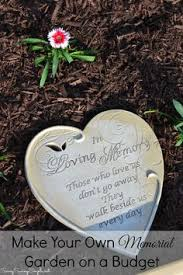 this is a wonderful idea for the memorial garden which will allow
