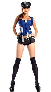 Womens Halloween Costume Police Officer Costume Promotion Shop Promotional