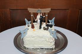 nerdy cake toppers wedding cake topper uchihaozu
