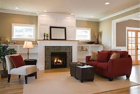 Fireplaces With Bookshelves by Fireplace With Short Bookshelves U0026 Windows Above Also Notice The