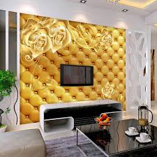 compare prices on yellow wall murals online shopping buy low european yellow rose flower wallpaper 3d wall mural for living room bedroom wall paper roll waterproof