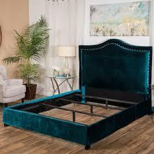 best selling home decor virgil upholstered studded bed the mine