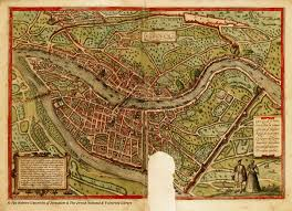 Map Of Lyon France by France Lyon Maps Braun Hogenberg Lyon Pinterest Lyon