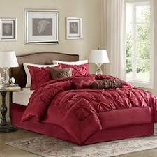 Madison Park Hanover 7 Piece Comforter Set Madison Park Boulder Red Stripe 7 Piece Comforter Set By Madison