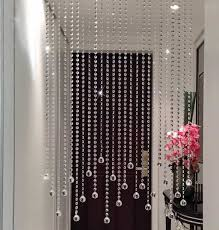 foyer with crystal beaded curtains beaded curtains bring
