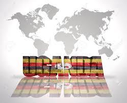 Uganda Flag Colours Uganda Vintage Map Stock Photos U0026 Pictures Royalty Free Uganda