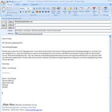 how to submit resume and cover letter via email