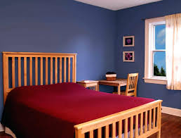 red bedroombest interior paint colors with brick that match