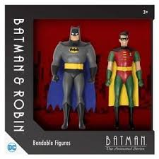 batman robin animated series bendable poseable