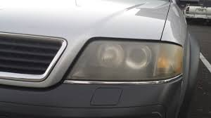 очистка фар u2014 бортжурнал audi allroad 2 7tt 6 speed manual 2002