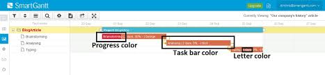 how to change colors in your charts smartgantt