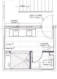 bathroom floor plan on master bathroom floor plans with shower