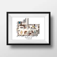 amazon com new tv show apartment floor plan new tv