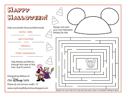 disney halloween printables my disney life october 2015