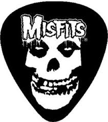 misfits guitar crimson ghost rock horror misfits