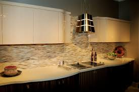 Kitchen Backsplash Stainless Steel Tiles L Shape Kitchen Decoration Using Stainless Steel Tile Modern