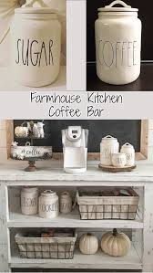 corner coffee bar cabinet farmhouse kitchen canister sets and