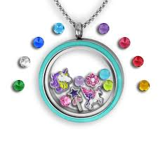 charm locket necklace images Unicorn necklace filled with unicorn and magical charms tell me jpg