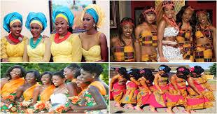 robe africaine mariage robes demoiselles d honneur mariage africain