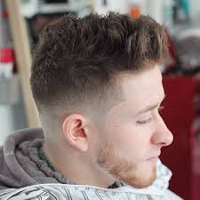textured top faded sides types of fade haircuts latest styles pictures for men