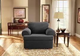 Armchair Slip Cover Sure Fit T Cushion Armchair Slipcover U0026 Reviews Wayfair
