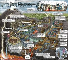 Magic Mountain Map Jason Thompson Is A Comic Artist And Illustrator White Plume