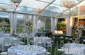 clear wedding tent hot sale clear top tent transparent roof wedding reception