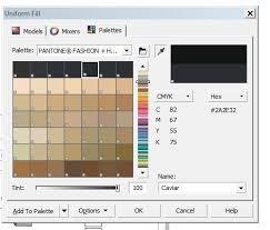 palette pantone pantone palette issue coreldraw x5 coreldraw graphics suite x5