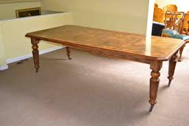 Victorian Dining Room Furniture Antique Victorian 8ft Burr Walnut Dining Table