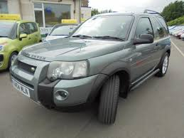 land rover freelander 2000 used 2004 land rover freelander td4 sport hard top for sale in