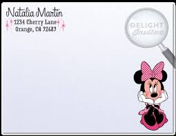 minnie mouse thank you cards retro pink minnie mouse thank you card di 217ty harrison