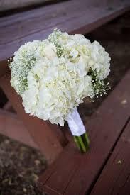 bouquet diy diy white hydrangea and baby u0027s breath bouquet wedding planning