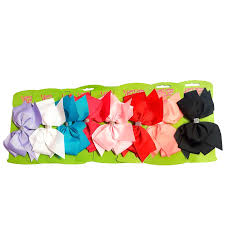 large hair bow clip hair accessories b m