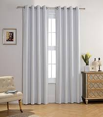 Kids White Blackout Curtains Amazoncom - Blackout curtains for kids rooms