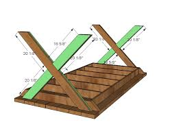 Plans For A Wood Picnic Table by Ana White Vanessa U0027s X Picnic Table Diy Projects