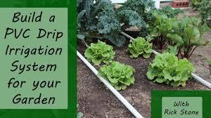 build a pvc drip irrigation system for your garden online gardening