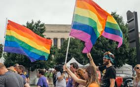 Nashville Flag Nashville Pride Equality Walk In Nashville At Downtown