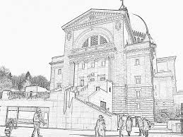 st joseph oratory coloring pages printable u0026 free church