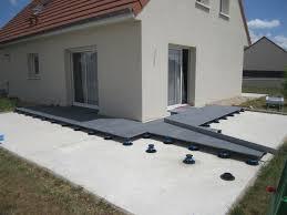 modele de terrasse couverte pose dalles grès cérame sur plots 174 messages