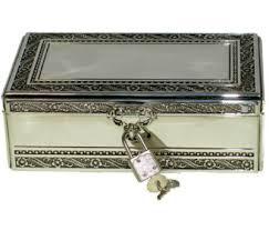 silver keepsake box personalized jewelry box custom keepsake box with key to my heart