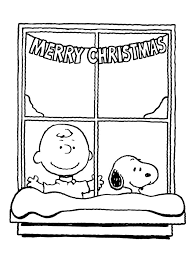 charlie brown christmas coloring sheets snoopy wisdom